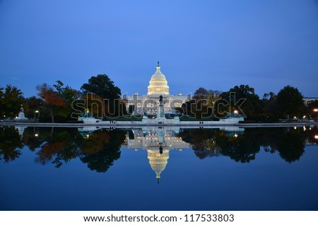 The United States Capitol - stock photo