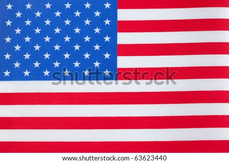 The United States of America Flag - stock photo