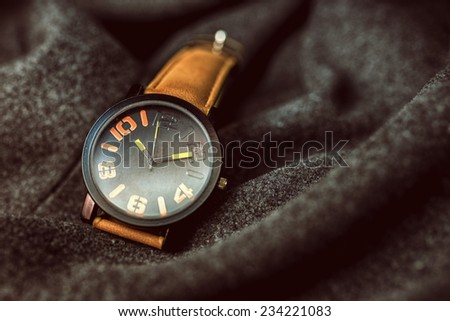 The watch - stock photo
