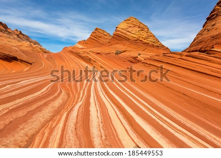 The Wave , Arizona - stock photo