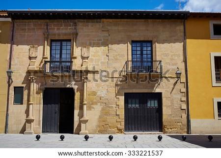 The way of Saint James by Santo Domingo de la Calzada La Rioja - stock photo