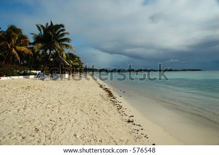 The West Cost of Mauritius - stock photo