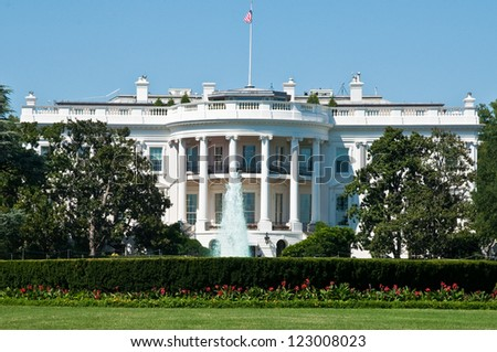 The White House - stock photo