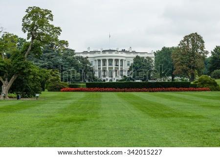 The White House in Washington  - stock photo
