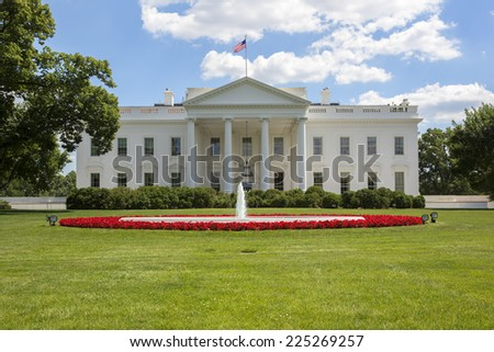 The White House in Washington, America.  - stock photo