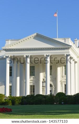 The White House, Washington DC, United States - stock photo