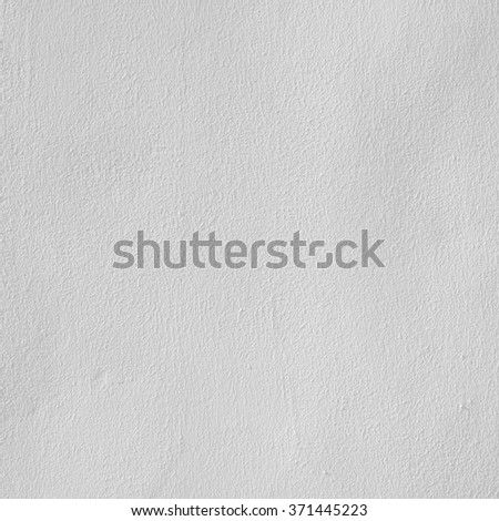 The white plastered wall - stock photo