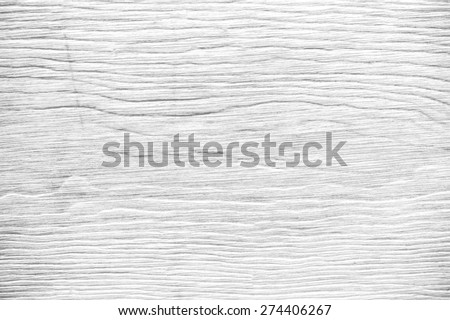 The white wood panel background with wood texture - stock photo