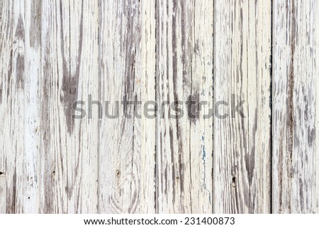 The white wood texture with natural patterns background - stock photo