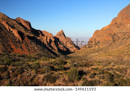 The Windows in Big Bend National Park - stock photo