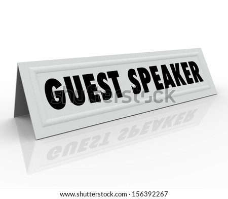 education and guest speaker essay Walker began his career guest-starring in several television  vin diesel went to the site of paul's death and spoke kind words over a loud speaker from a police.