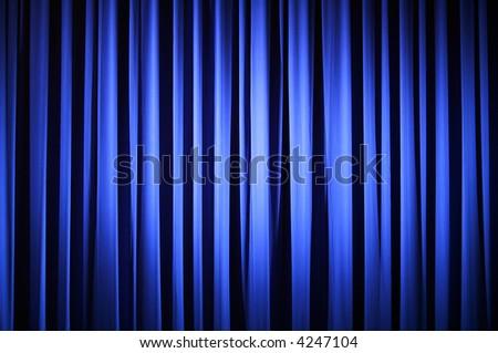 Theater Curtain - stock photo