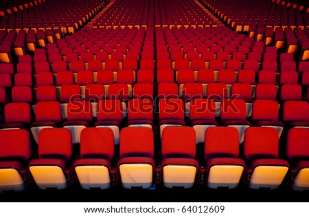 Theater Seat - stock photo