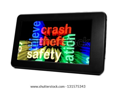 Theft safety concept - stock photo