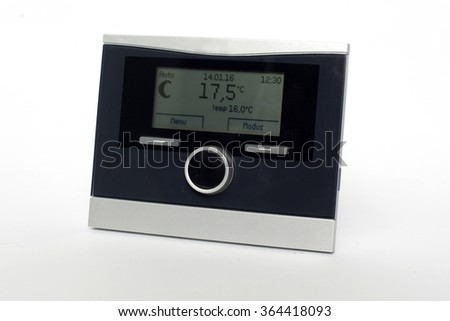 thermostats - stock photo