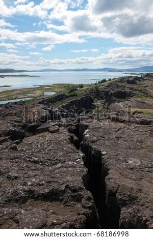 Thingvellir - National park, Iceland - stock photo