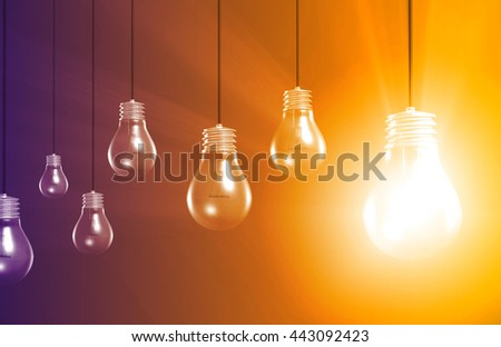 Think Outside the Box or Thinking Different Ideas 3d Illustration Render - stock photo
