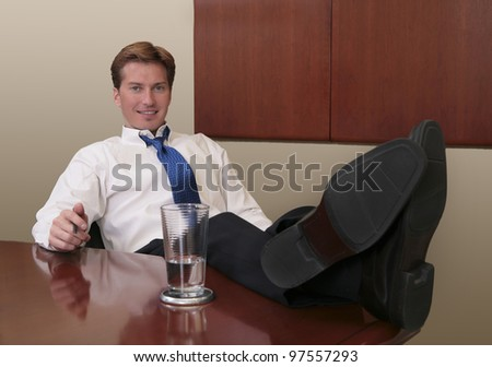 feet propped resting up stock photos images pictures shutterstock. Black Bedroom Furniture Sets. Home Design Ideas
