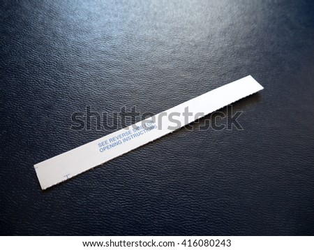 This Is Your Paycheck  - stock photo