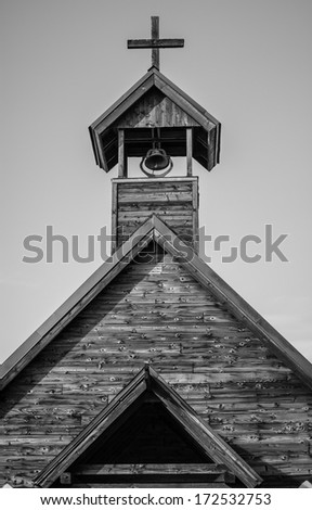 This old church - stock photo
