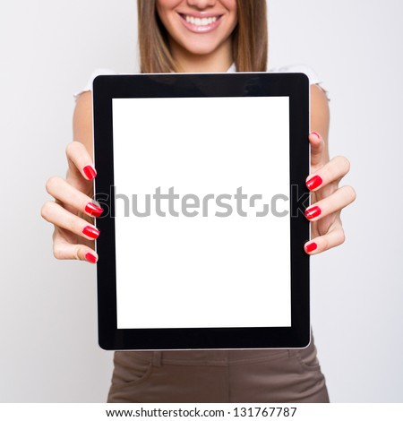 This product is amazing - stock photo