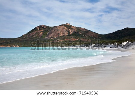 Thistle Cove, Cape le Grand National Park in Western Australia. - stock photo