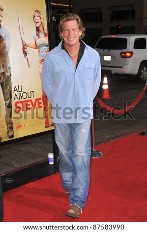 "Thomas Haden Church at the world premiere of his new movie ""All About Steve"" at Grauman's Chinese Theatre, Hollywood. August 26, 2009  Los Angeles, CA Picture: Paul Smith / Featureflash - stock photo"