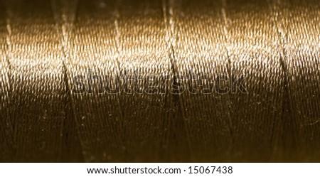 thread bobbin, seamless texture for background - stock photo