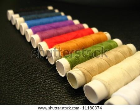 Thread pattern - stock photo