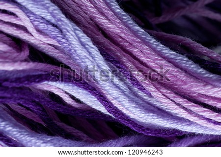 Thread texture - stock photo