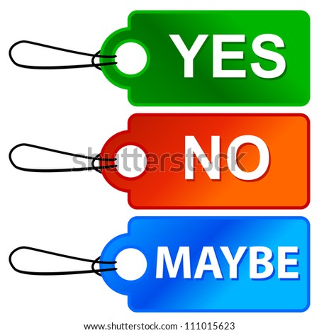 Yes No Maybe Stock Photos, Images, & Pictures | Shutterstock