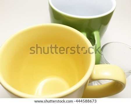 three cup is Different - stock photo