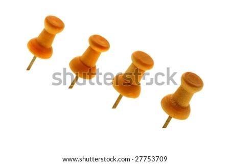 Thumbtacks - stock photo