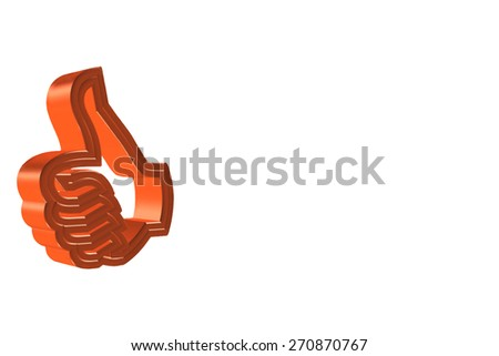 Thumsup Sign - stock photo