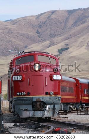 Thunder Mountain Train - stock photo