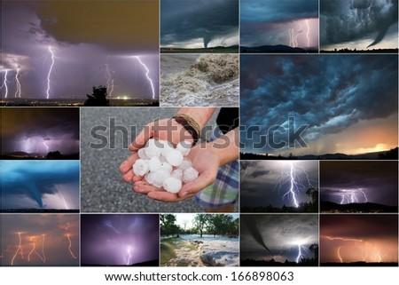 Thunderstorm - stock photo