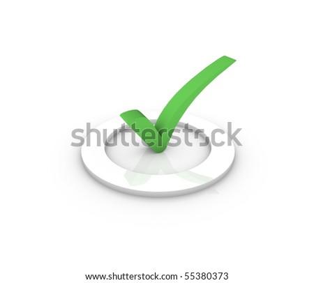 tick - stock photo