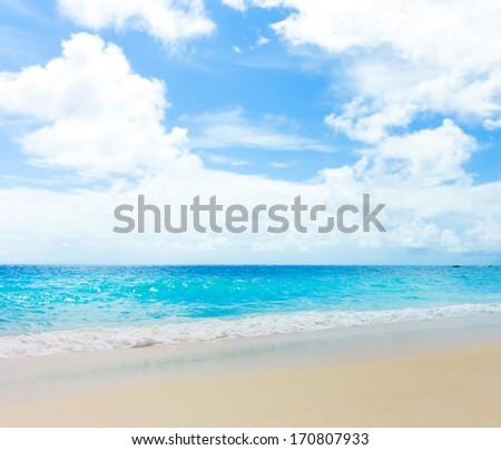 Tide Splashing Surf  - stock photo