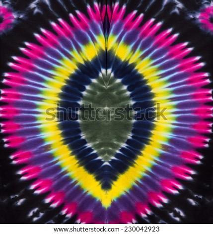 Tie Dye Abstract Design - stock photo