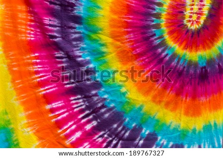 Tie-Dye Colors - stock photo