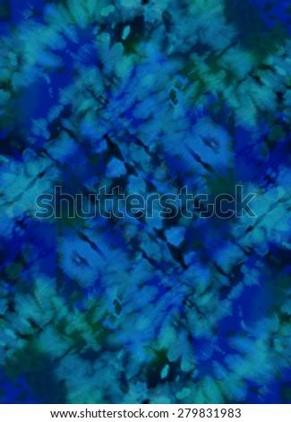 Tie-Dye design ~ seamless background - stock photo