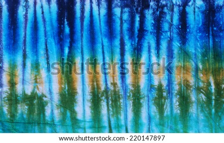 tie dyed fabric background.  - stock photo