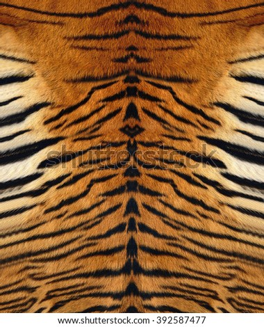 Tiger Leather - stock photo