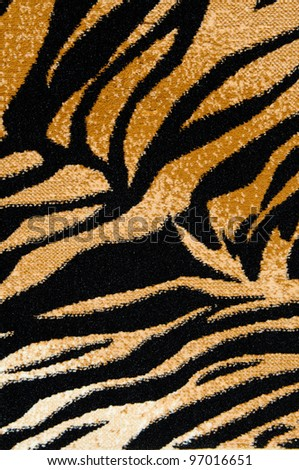 Tiger Print Background - stock photo