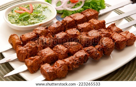 Tikka Boti-8 - stock photo