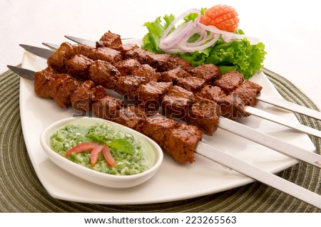 Tikka Boti-2 - stock photo
