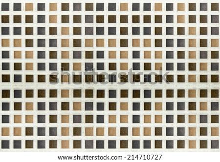 Tile mosaic pastel color. - stock photo