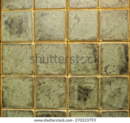 tile old - stock photo