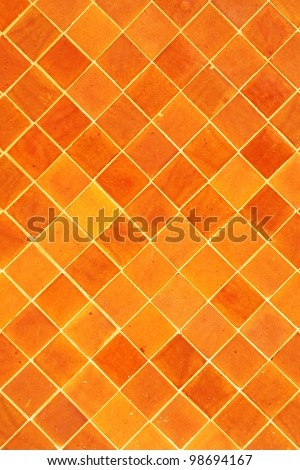 Tile wall background texture - stock photo