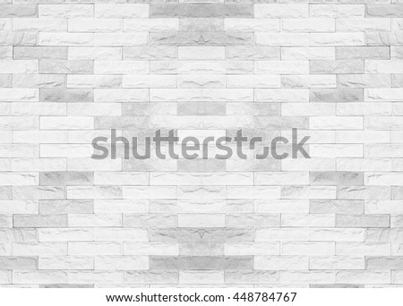 Tiled brick wall in light sepia beige black white tone texture background for interiors design home, house, building, shop, store, art, coffee shop, popular brick wall.Brick wall tile texture. office - stock photo